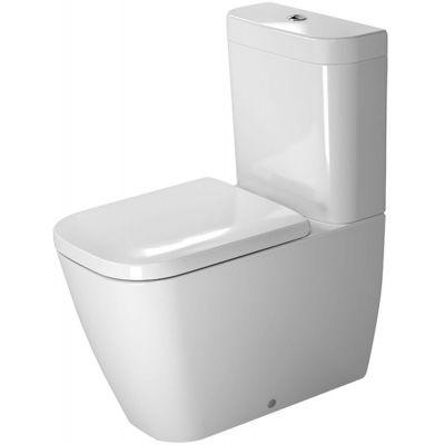 Duravit Happy D.2 miska WC kompaktowa stojąca WonderGliss biała 21340900001