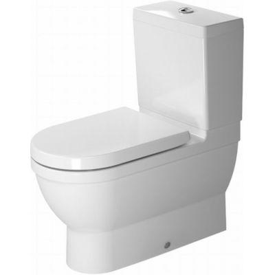 Duravit Starck 3 miska WC kompaktowa stojąca WonderGliss biała 21410900001