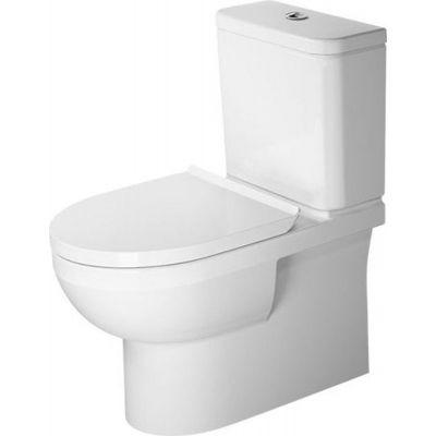 Duravit DuraStyle Basic miska WC kompaktowa stojąca Rimless biała 2182090000