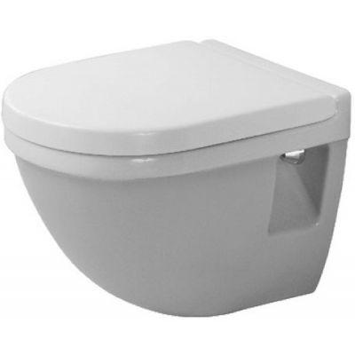 Duravit Starck 3 Compact miska WC wisząca WonderGliss biała 22020900001