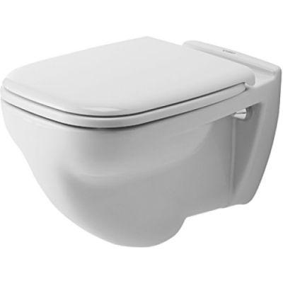 Duravit D-Code miska WC wisząca biała 22100900002