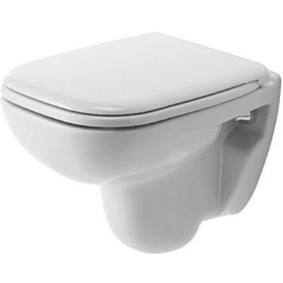 Duravit D-Code Compact miska WC wisząca biała 22110900002