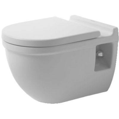 Duravit Starck 3 Comfort  miska WC wisząca biała 2215090000
