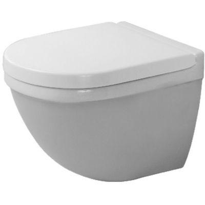Duravit Starck 3 Compact miska WC wisząca WonderGliss biała 22270900001