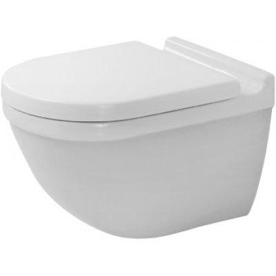 Duravit Starck 3 zestaw WC miska wisząca Rimless z deską wolnoopadającą 45270900A1 (2527090000,0063890000)