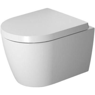 Zestaw Duravit ME by Starck miska WC Rimless wisząca z deską wolnoopadającą białą (2530090000, 0020190000)
