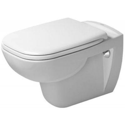 Zestaw Duravit D-Code miska WC wisząca z deską wolnoopadającą białą (25350900002, 0067390000)