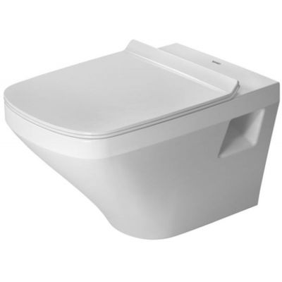 Duravit DuraStyle miska WC wisząca Rimless WonderGliss biała 25380900001