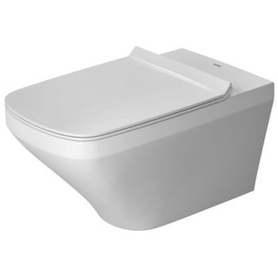 Duravit DuraStyle miska WC wisząca Rimless WonderGliss biała 25420900001
