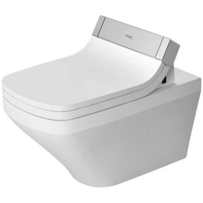 Zestaw Duravit DuraStyle miska WC Rimless z deską sedesową myjącą Starck e  białą (2542590000, 610200002004300)