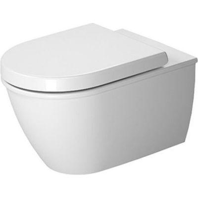 Zestaw Duravit Darling New miska WC wisząca z deską wolnoopadającą białą (2545090000, 0069890000)