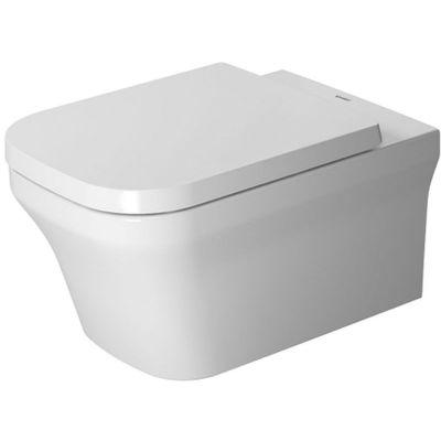 Duravit P3 Comforts miska WC wisząca Rimless WonderGliss biała 25610900001