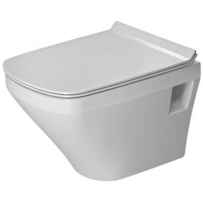 Zestaw Duravit DuraStyle Compact miska WC wisząca Rimless HygieneGlaze z deską wolnoopadającą biały (2571092000, 0063790000)