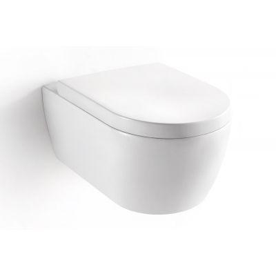 Excellent Doto Classic miska WC wisząca z deską sedesową biała CEEX.1509.545.WH