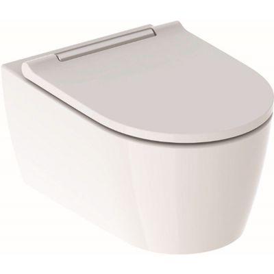 Geberit One miska WC wisząca z deską wolnoopadającą Slim biała 500.202.01.1