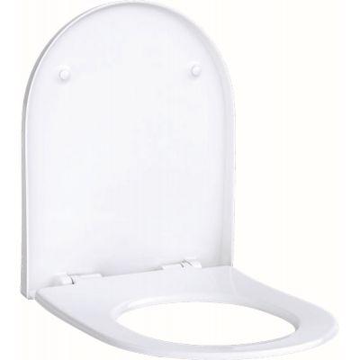 Geberit Acanto deska sedesowa wolnoopadająca Slim biała 500.605.01.2