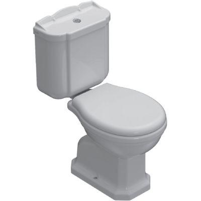 Globo Paestum spłuczka WC biała PA012.BI