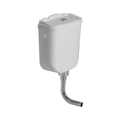 Globo Paestum spłuczka ceramiczna biała PA114.BI