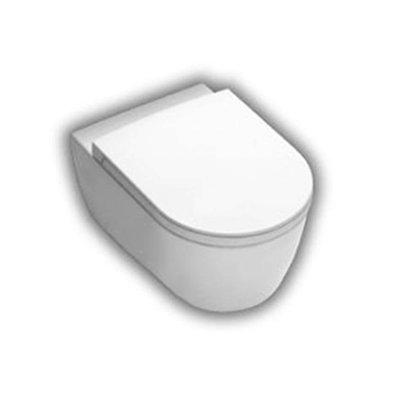 Hatria Fusion miska WC wisząca biała YXGQ01