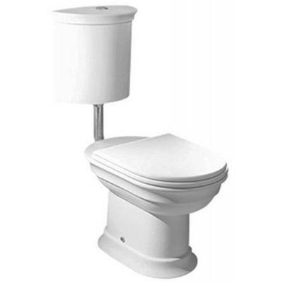 Hatria Dolcevita miska WC stojąca biała YXXN01