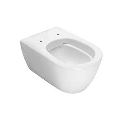Hatria Fusion miska WC wisząca bez kołnierza biała Y1CC01
