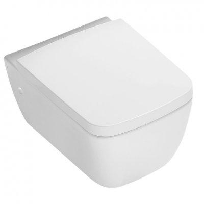 Hatria Fusion Q miska WC wisząca biała YXWY01