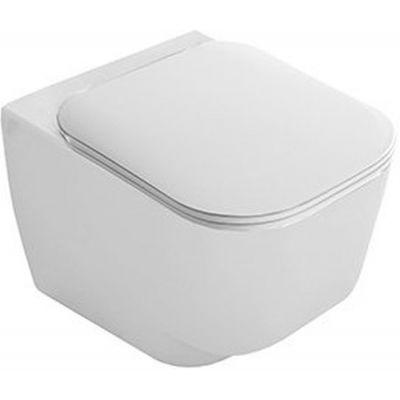Hatria Fusion 48 deska sedesowa wolnoopadająca biała Y1EY01