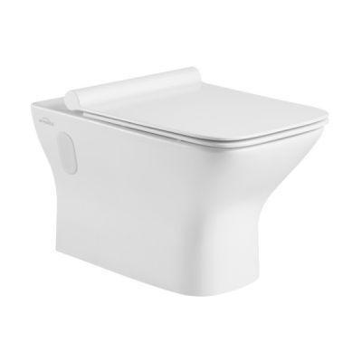 Invena Nyks miska wisząca WC z deską wolnoopadającą biała CE-61-001