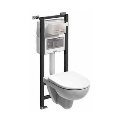 Zestaw Koło Nova Pro miska WC ze stelażem Technic GT 99323000 (99400000, M33120000)