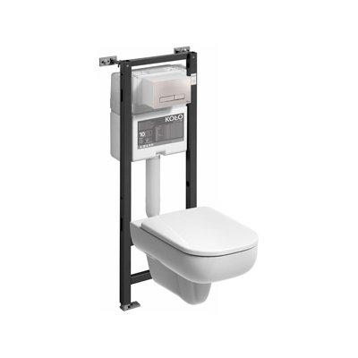 Zestaw Koło Traffic miska WC ze stelażem Technic GT 99341-000 (9940000, L93100000)