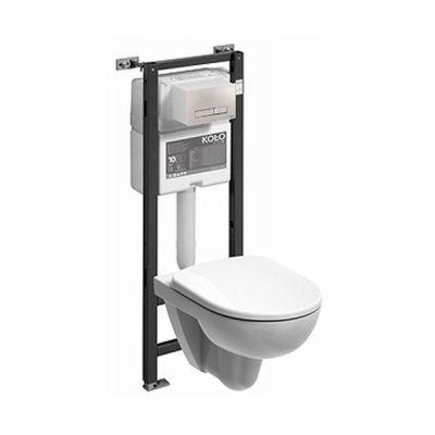 Zestaw Koło Nova Pro miska WC wisząca Rimfree ze stelażem Technic GT Smart Fresh 99360-000 (99440000, M33120000)