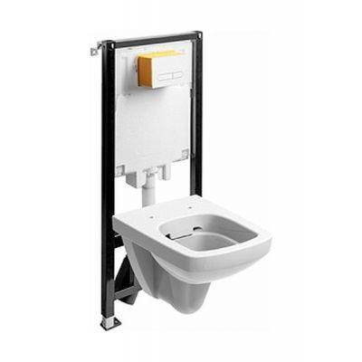 Zestaw Koło Nova Pro miska WC Rimfree ze stelażem Slim2 99646-000 (99640000, M33123000)