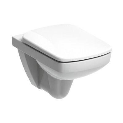 Zestaw Koło Nova Pro miska WC wisząca Rimfree z deską wolnoopadającą biała (M33123000, M30118000)