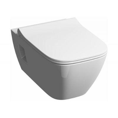Zestaw Koło Modo Rimfree miska WC wisząca z deską wolnoopadającą Slim biała (L33120000, L30115000)