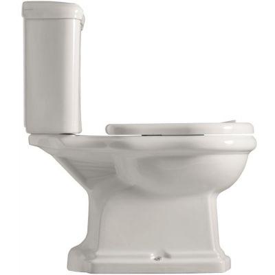 Kerasan Retro miska WC kompaktowa stojąca biała 101201