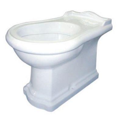 Kerasan Retro miska WC stojąca biała 101601