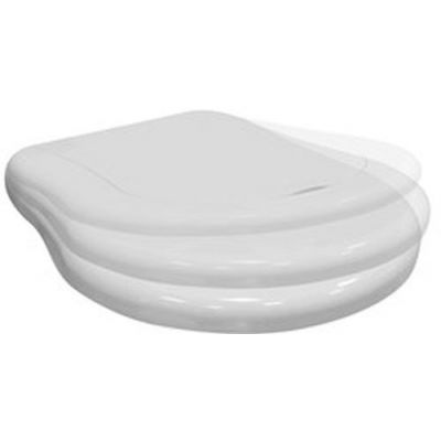 Kerasan Retro deska sedesowa wolnoopadająca biała 108401