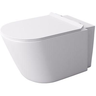 Massi Loca Mini miska WC wisząca z deską wolnoopadającą Slim biała MSM-0002SLIM
