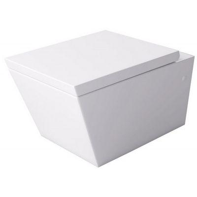 Massi Inglo miska WC wisząca z deską wolnoopadającą biała MSM-2389DU