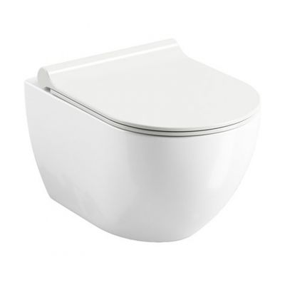 Ravak Uni Chrome RimOff miska WC wisząca bezkołnierzowa biała X01535