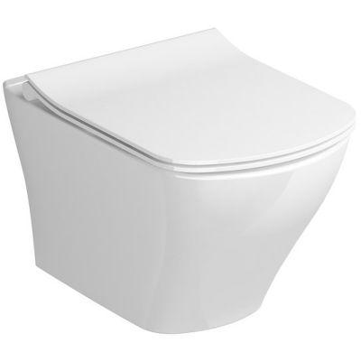 Ravak Classic RimOff miska WC wisząca biała X01671