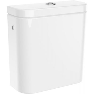 Roca Gap Round zbiornik WC do kompaktu biały A3410N1000