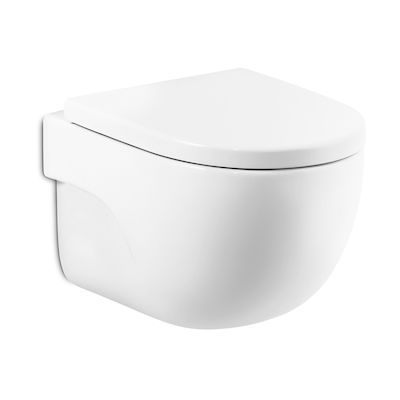 Roca Meridian Compacto miska WC wisząca Rimless MaxiClean biała A34624400M