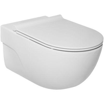 Roca Meridian miska WC wisząca Rimless Maxi Clean biała A34624L00M