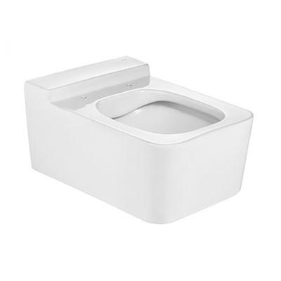 Roca Inspira Square miska WC wisząca Rimless biała Maxi Clean A34653700M