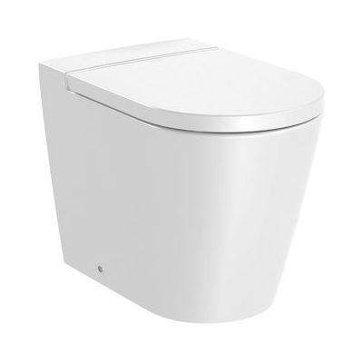 Roca Inspira Round miska WC Rimless stojąca biała A347526000