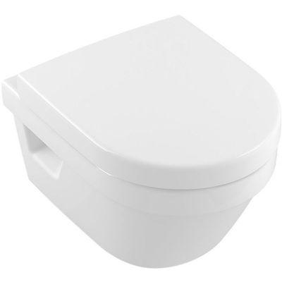 Villeroy & Boch Architectura miska WC bezkołnierzowa CeramicPlus biała 4687R0R1