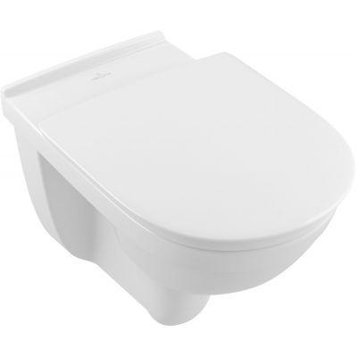 Villeroy & Boch O.Novo Vita miska WC wisząca bez kołnierza Weiss Alpin 4695R001