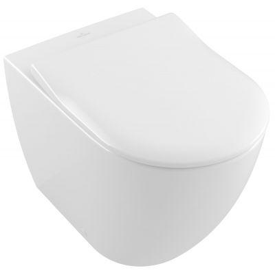 Villeroy & Boch Subway 2.0 miska WC stojąca bez kołnierza Weiss Alpin 5602R001