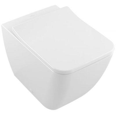 Villeroy & Boch Legato miska WC stojąca bez kołnierza Weiss Alpin 5639R001
